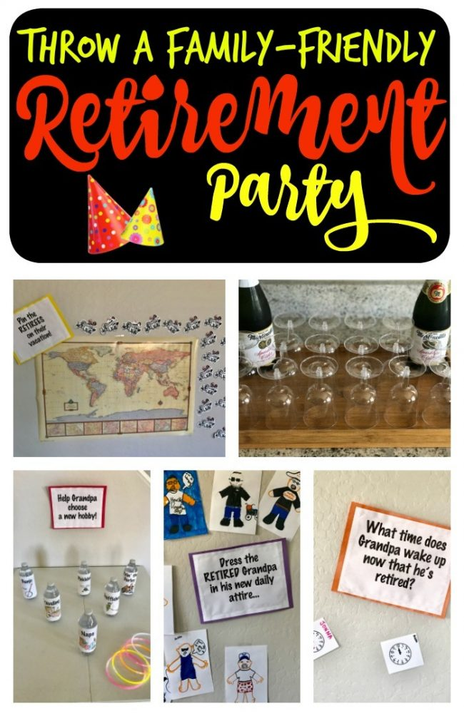 Know someone retiring soon? You're crew is going to love these family-friendly retirement party games and ideas for a big hit of a party!