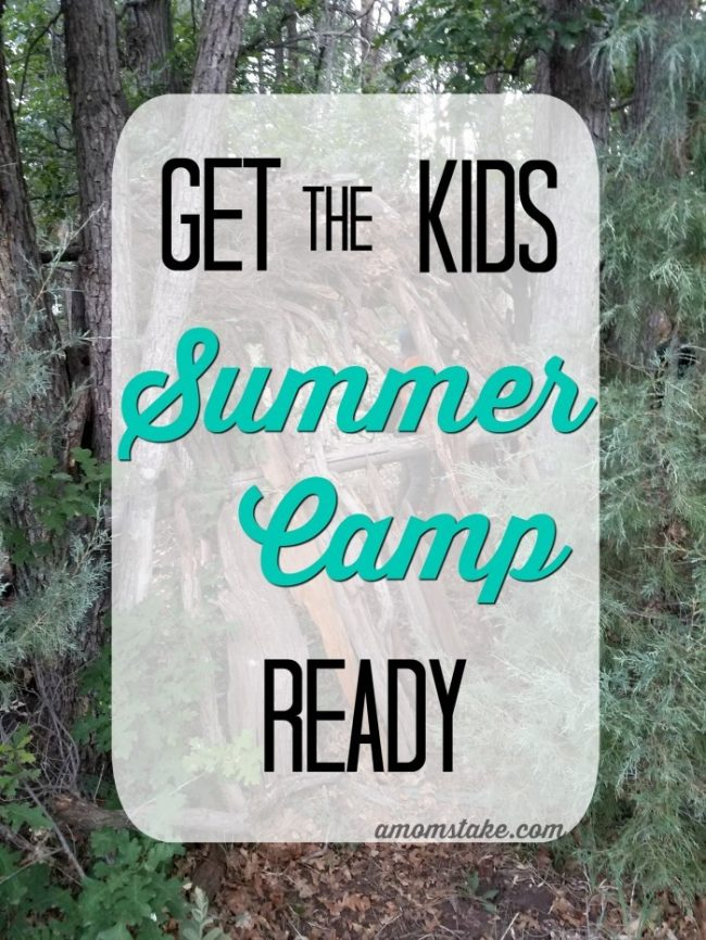 The kids love going to their various summer camps, but it's a pain getting them ready.