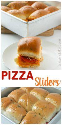 Easy Pizza Sliders Recipe