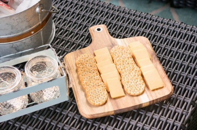 backyard entertaining outdoor serving tray for your patio