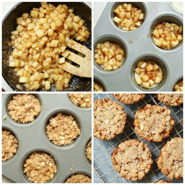 How to make apple cobbler cookies