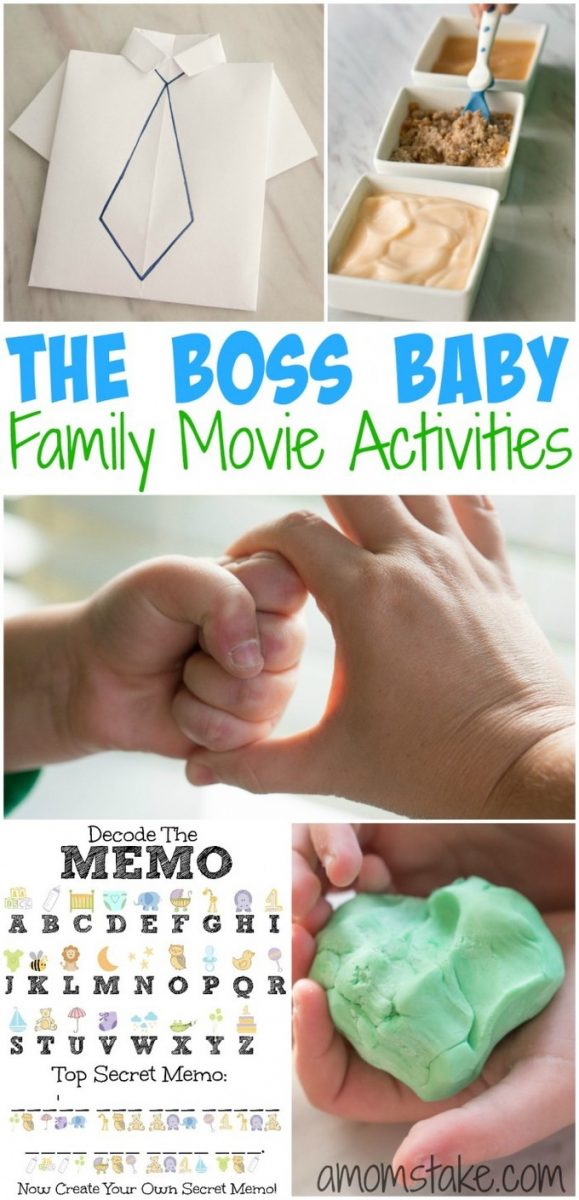 8 fun and simple family activities the kids will love! All themed around a new baby, or The Boss Baby new movie for a fun family movie night and viewing party in one!