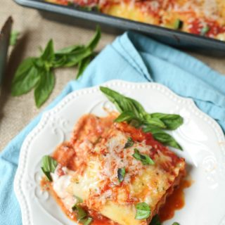 Easy Lasagna Rolls Recipe