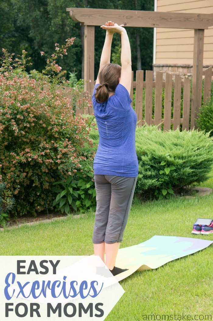 These 5 easy exercises you can do, even with your kids! Skip the gym membership and try these no-stress not-so-strenuous workout that will make a difference in your overall health and weight loss goals!