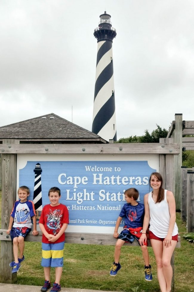plan a family night to visit historic sites
