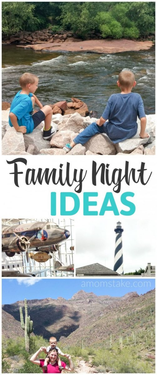 These unique and fun family night out ideas. A great way to bond with your children and as a family.
