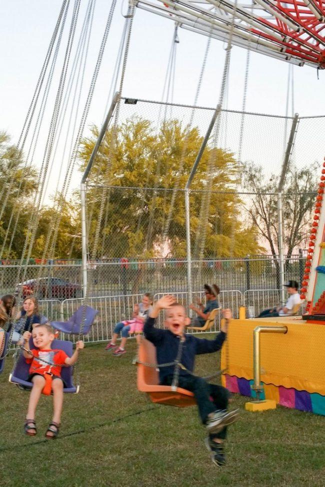family fun night to a carnival