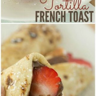 Tortilla French Toast Recipe