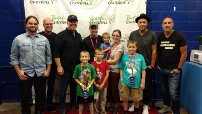MercyMe meet and greet
