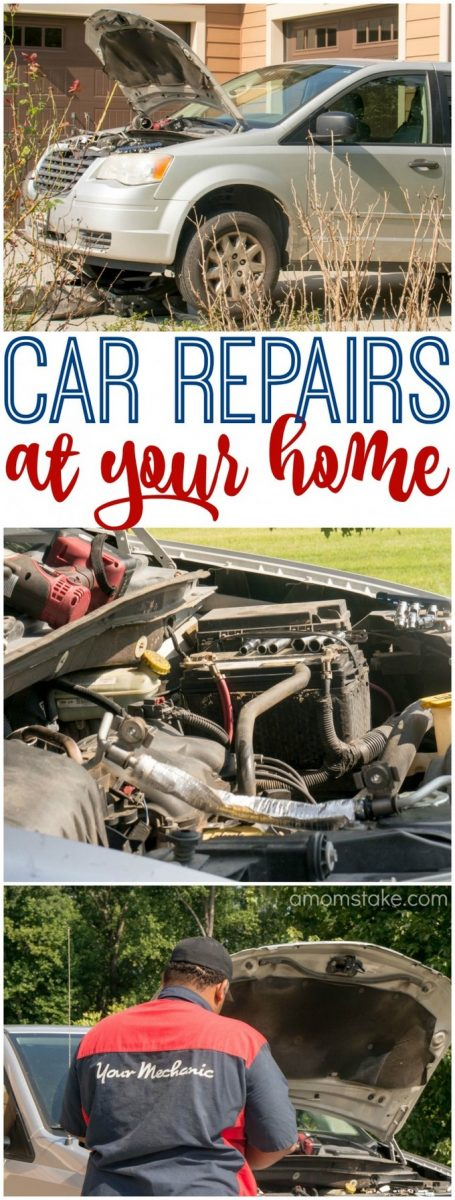 Moms, this is changing the way you'll schedule your auto maintenance! Get your car repairs handled at your own home on your schedule!