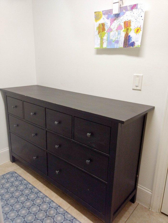 Family dresser solution to the laundry piles!