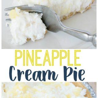 5-Minute No Bake Pineapple Cream Pie