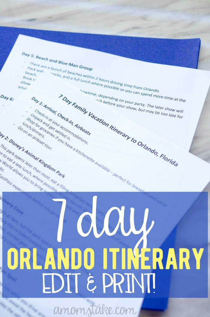 unforgettable 7 day orlando family vacation itinerary a mom s take