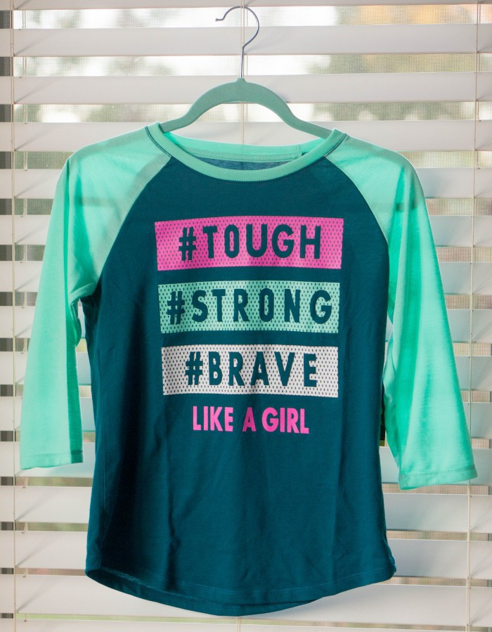 """65921878 One of my favorites from the collection is the """"I Fight For"""" tops that  leave you room to make your shirt personalized and meaningful."""
