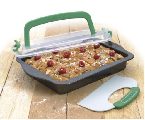 Perfect Slice Bakeware for portion control