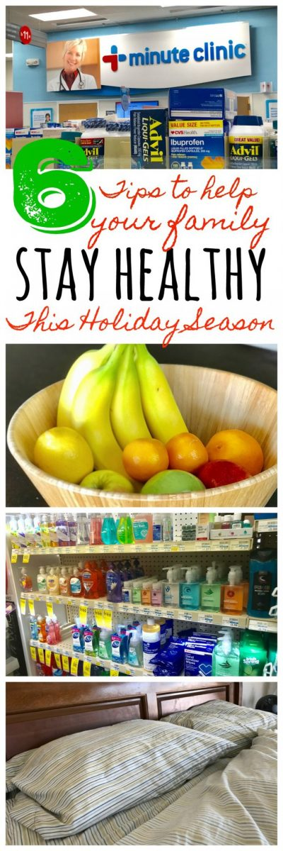 Tips to stay healthy during the holidays #Ad
