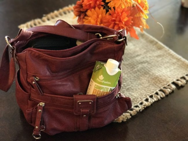 PlantFusion Protein keeps me healthy while on the go #AD