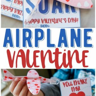 You Make My Heart Soar – Airplane Valentines!