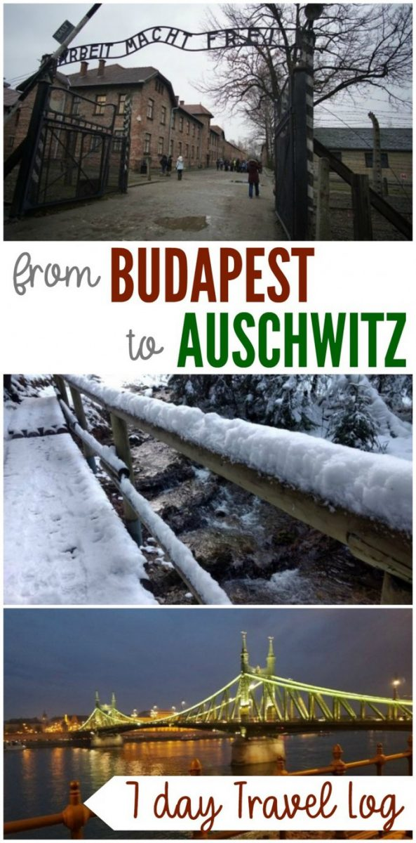 Budapest to Auschwitz Travel Log