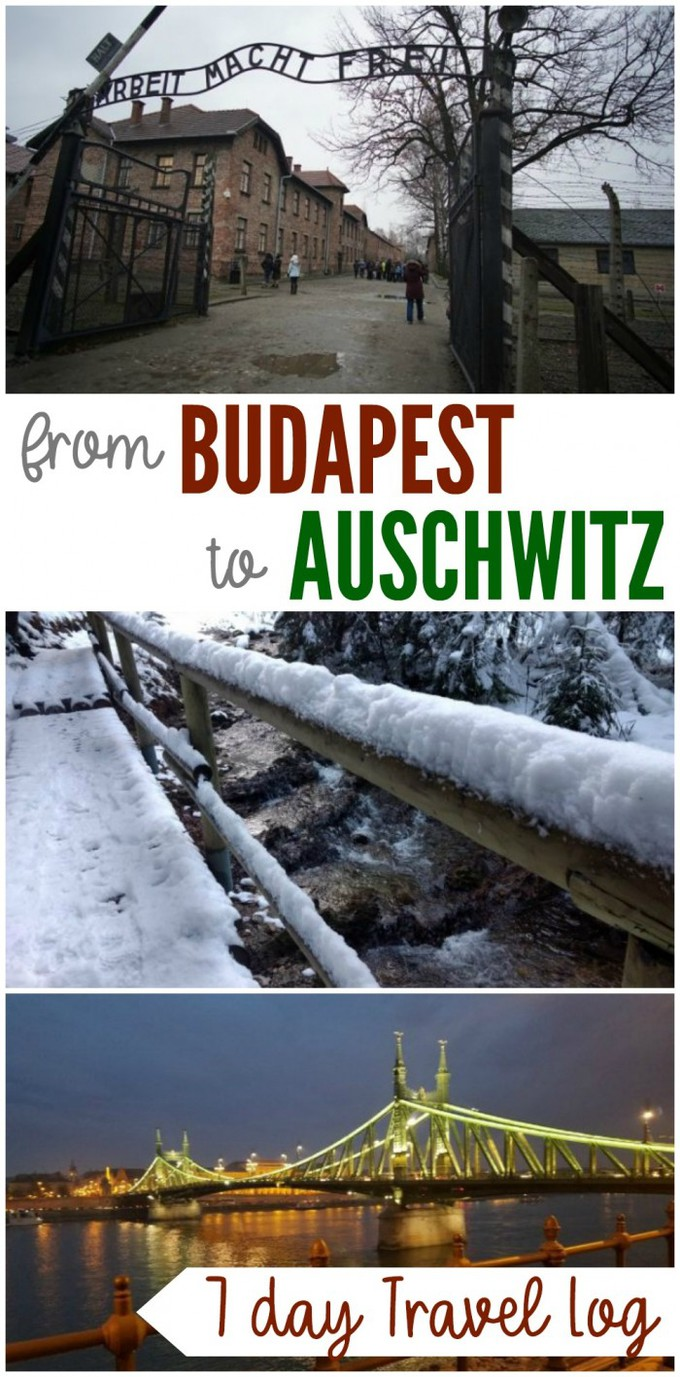 Budapest to Auschwitz Travel Log - A road trip itinerary starting in Budapest, Hungary and going through Vienna, Prague, Krakow and Auschwitz Poland, and through Slovakia. #vacation #travel #budapest #auschwitz #europe #poland