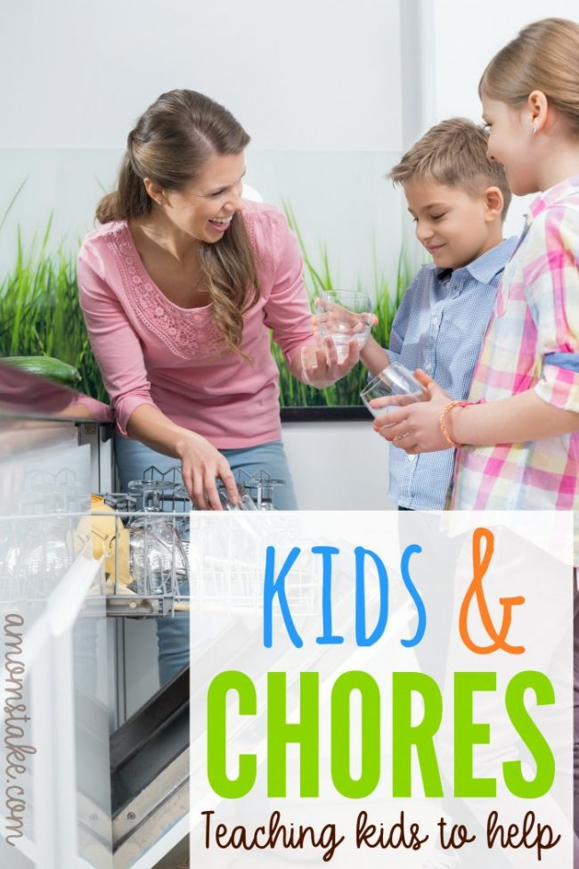 Kids & Chores Teaching kids to help