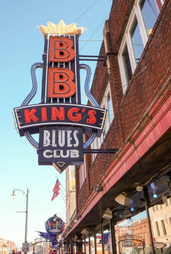 b.b. king club memphis