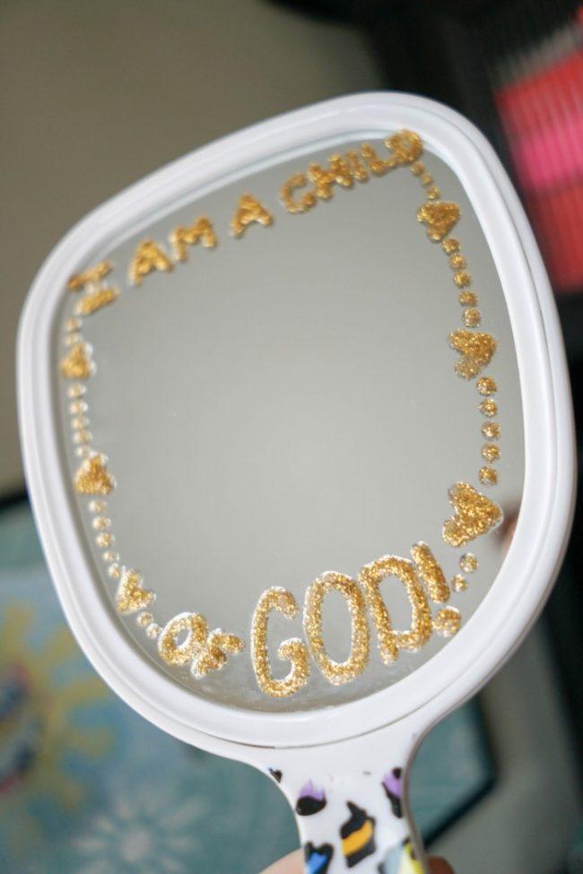 i am a child of god mirror