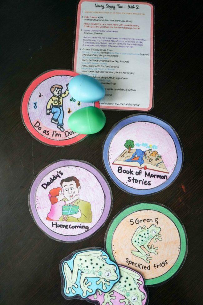 primary nursery singing time