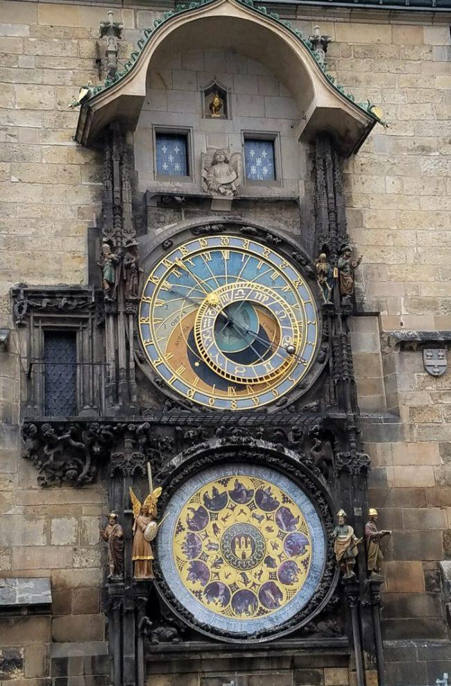 prague clock town