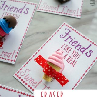 Friends Like You – Eraser Valentines