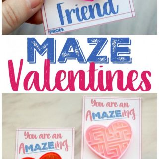 Amazing Friend – Maze Valentine Card!