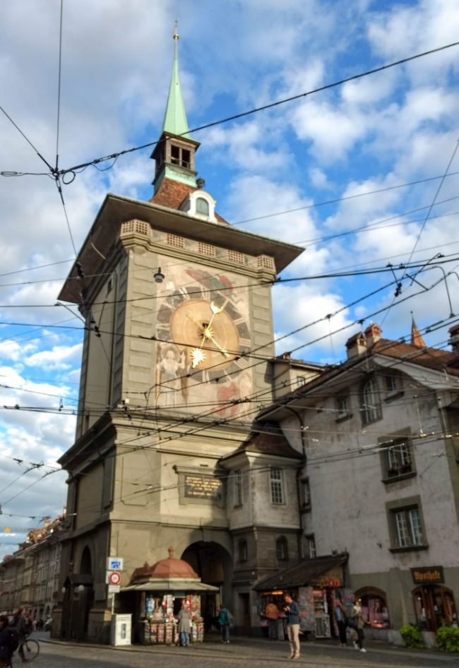 bern switzerland clock tower