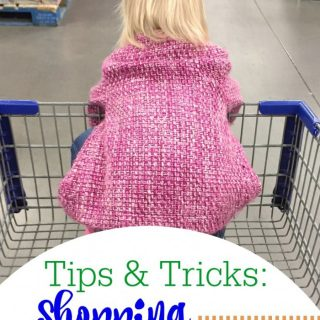 Tips and Tricks for Shopping with Toddlers