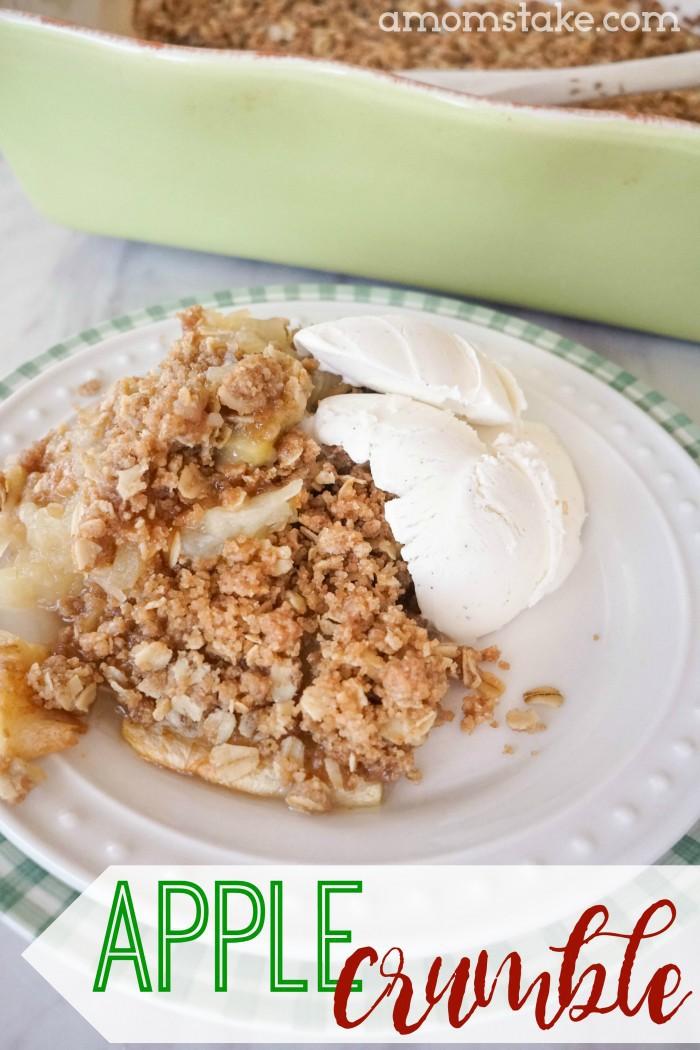 Easy Homemade Apple Crumble Recipe