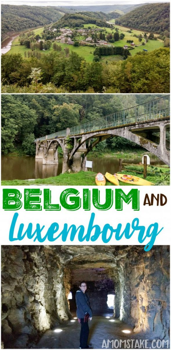 Western Europe road trip itinerary - day 1 takes us to the Semois Valley in Belgium and to Luxembourg City, Luxembourg! #travel #trip #vacation #destination #traveleurope #roadtrip