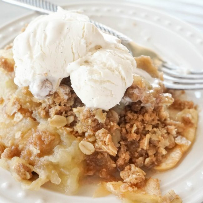 Easy Apple Crumble Recipe