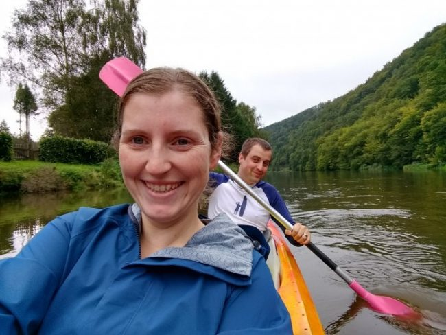 semois valley kayaking