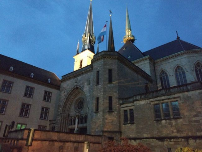 notre dame cathedral luxembourg city