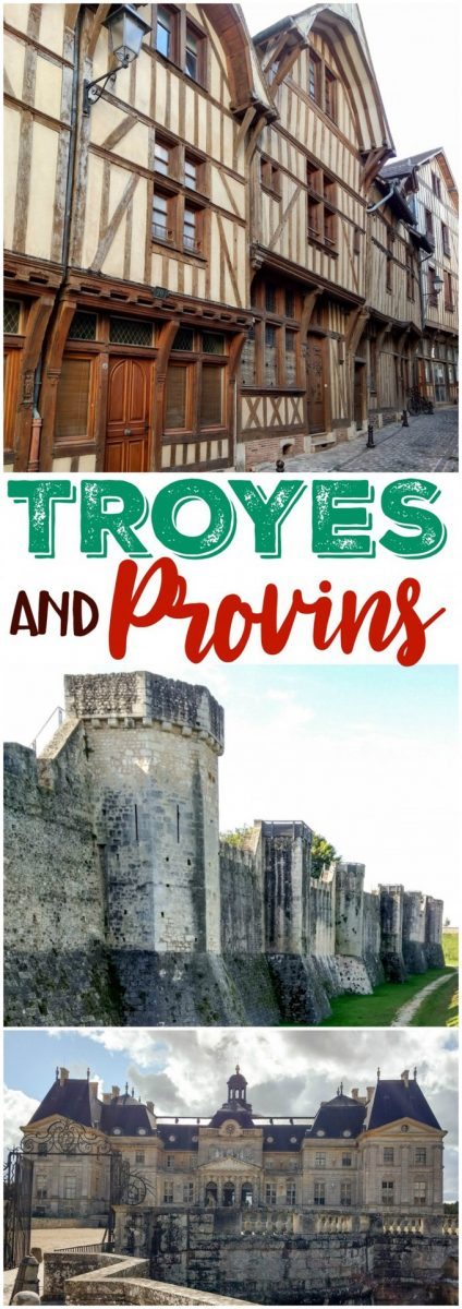 Discover Troyes and Provins France during our Western Europe road trip travel log! #vacation #travel #trip #Europe #Troyes #Provins #France #destination