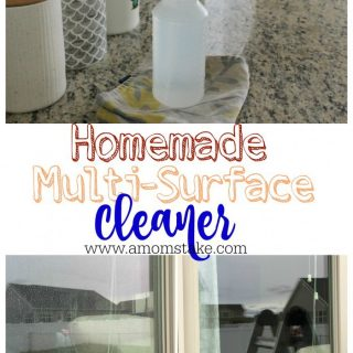 Homemade Multi-Surface Cleaner