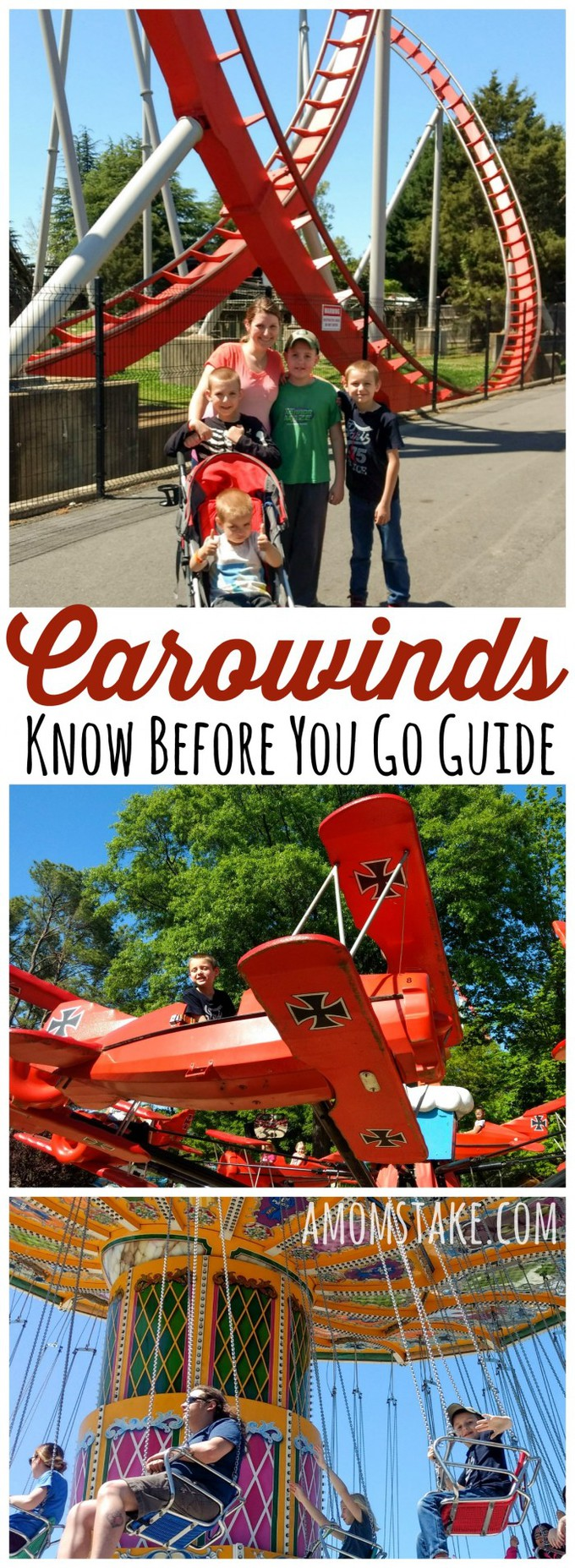 5 things to know before you go to carowinds - tips and tricks to make the most out of your family trip to Carowinds theme park in North Carolina / South Carolina. Perfect destination for roller coaster lovers! #travel #familytravel #rollercoasters #themepark #vacation #staycation #northcarolina #southcarolina #carowinds