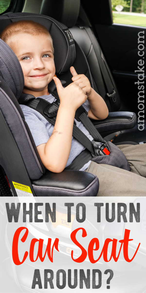 When should I turn my car seat around? This safety guide will help you understand what to look for and who's advice to follow (plus what factors are NOT important). #carseat #safety #babies #toddlers #parenting