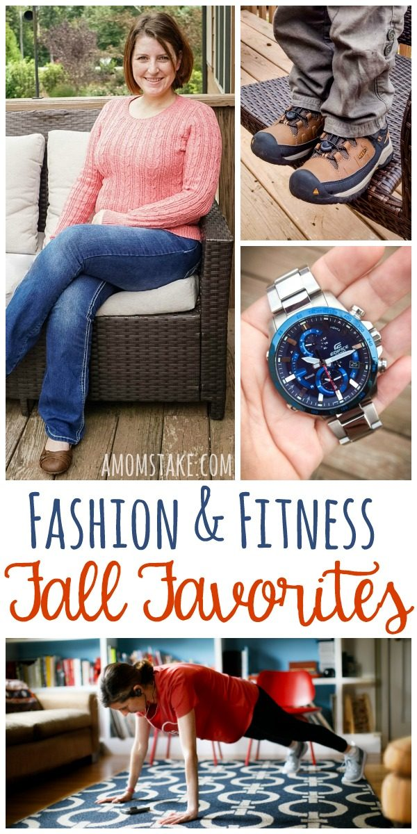 Fall Fashion & Fitness favorites! See our top style picks and fitness helps for this fall! You'll fall in love with these top products for moms, dads, kids and families!