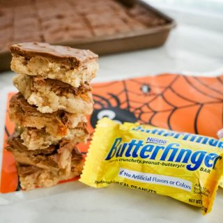 No-Bake Butterfinger Cookie Bars