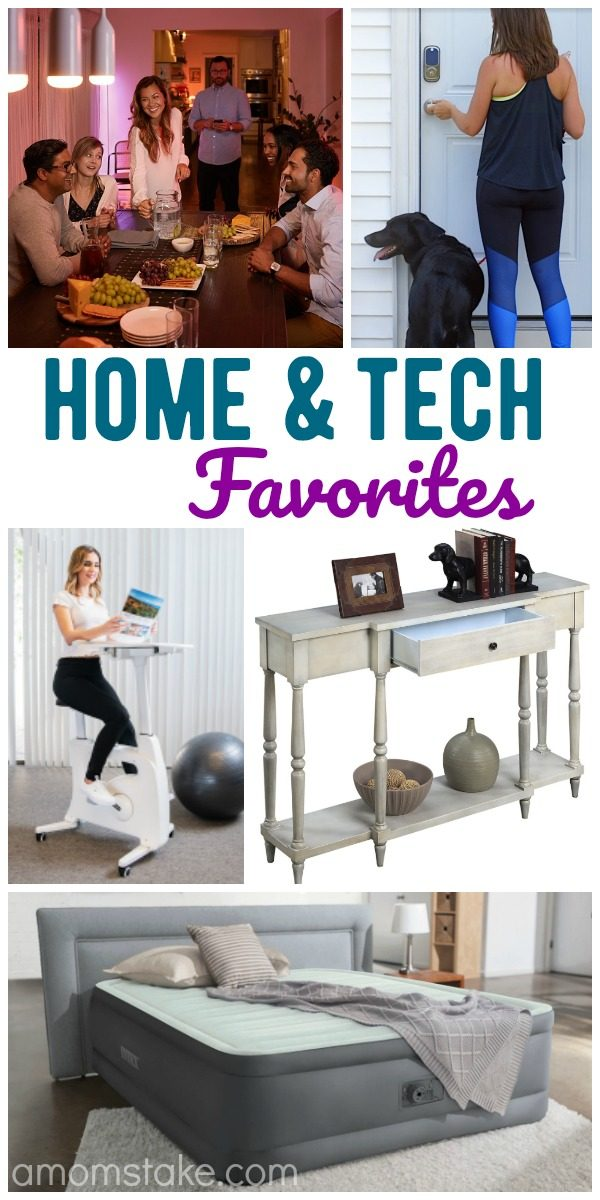 Favorite home and tech products to upgrade your space! We're loving these smart home features, cute decor, and home essentials!