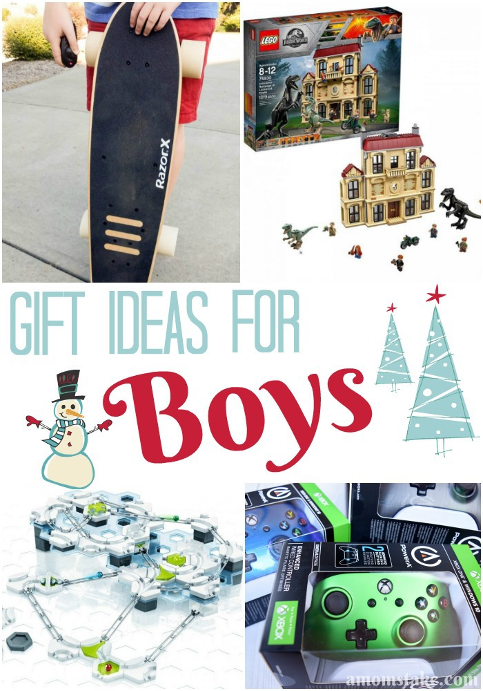 Check out this year's new hottest gift ideas for boys.