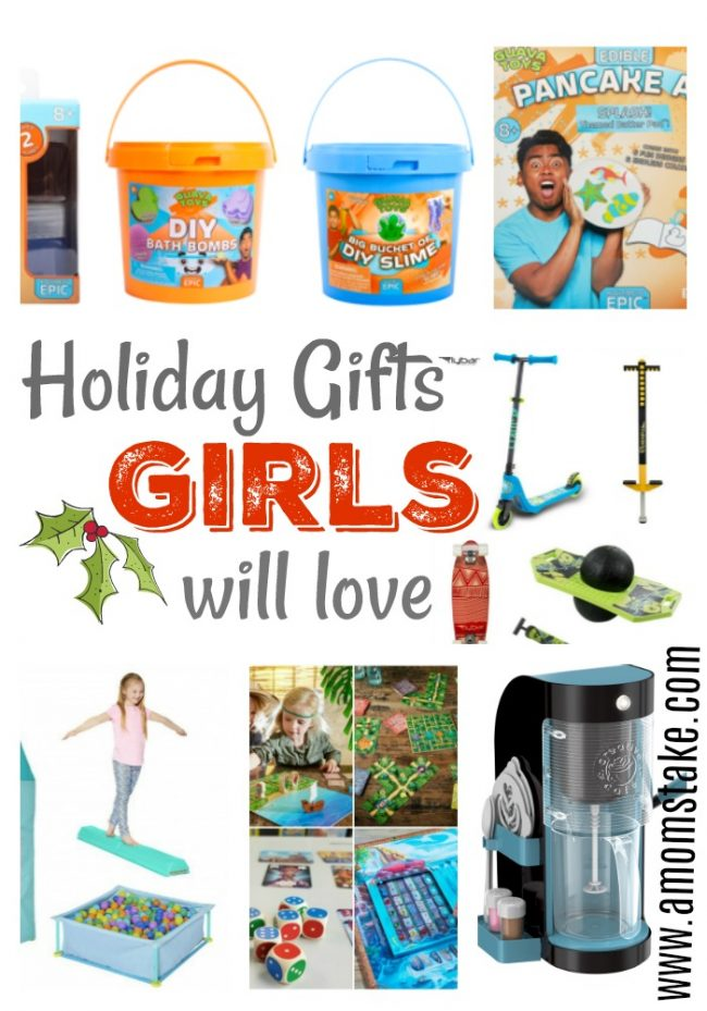 Holiday Gifts Girls Will Love! - A Mom's Take