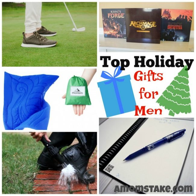 Holiday Gift Ideas for Men from A Mom's Take