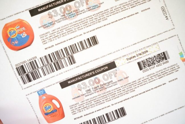 tide coupon February 2019