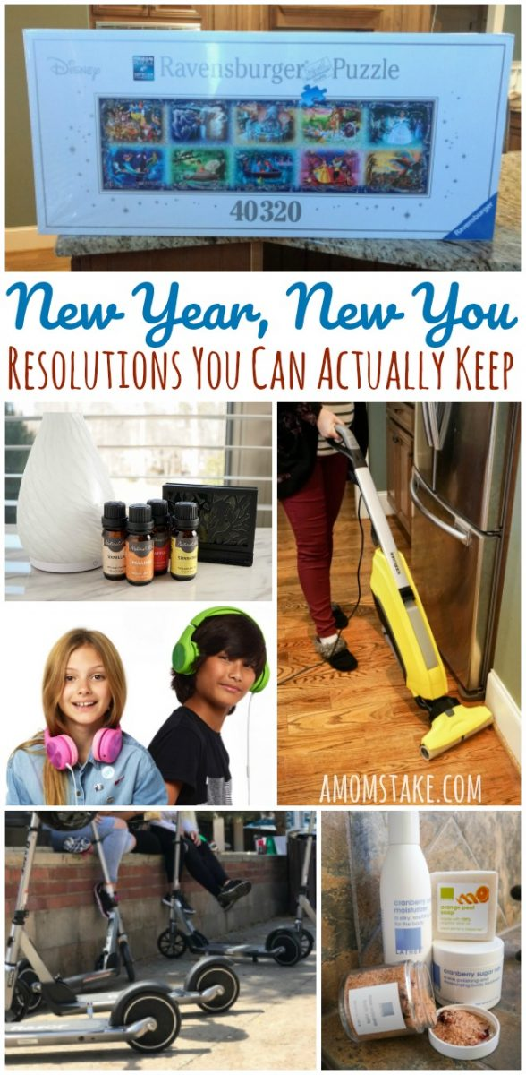 New Year New You -- 12 Resolutions You Can Actually Keep with these simple swaps and changes that won't take any extra thought!!